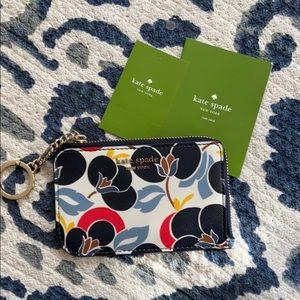 Kate Spade floral key ring